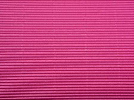 Bright Pink Corrugated Paper