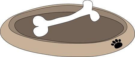 bandeja de comida: Dog Food Tray