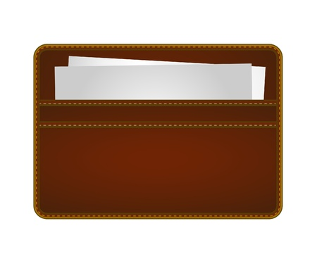 Name Card Holder Illustration