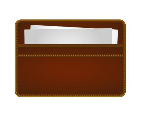 Name Card Holder Stock Vector - 21787195