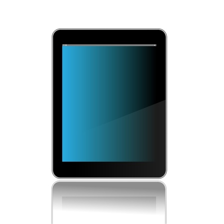 Tablet PC Illustration