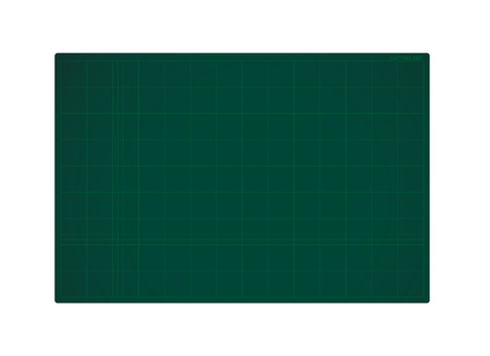 Green Cutting Mat Illustration