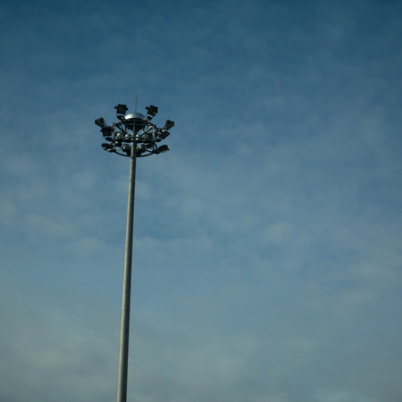 Light poles photo