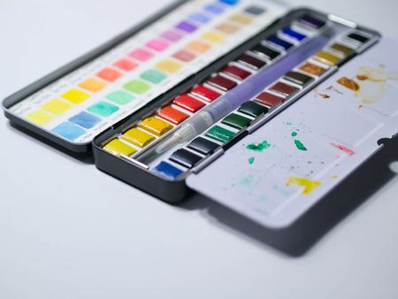 Watercolour pan