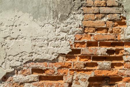 brick background: Brick wall. Vintage street brick background.   Stock Photo