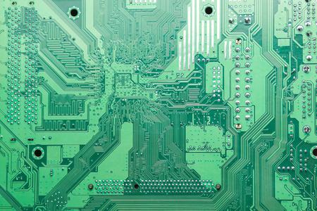 printed circuit: printed circuit board wallpaper Stock Photo
