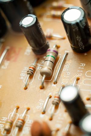 componentes: Componentes de placa de circuito impreso