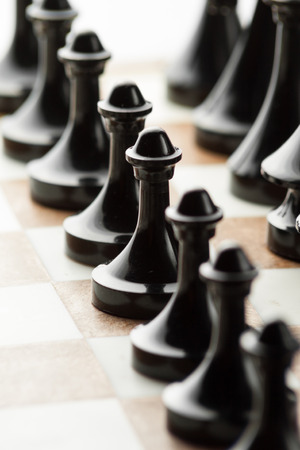 defeated: pawns