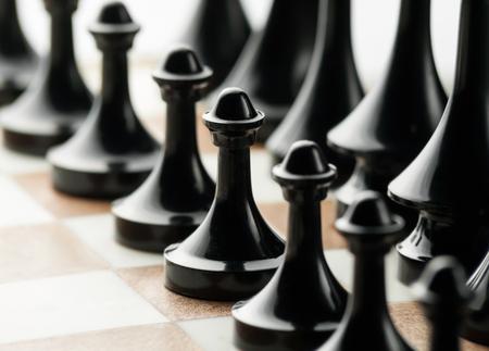 defeat: pawns