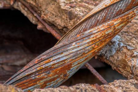 old bridge cable