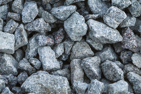 crushed: crushed granite texture Stock Photo