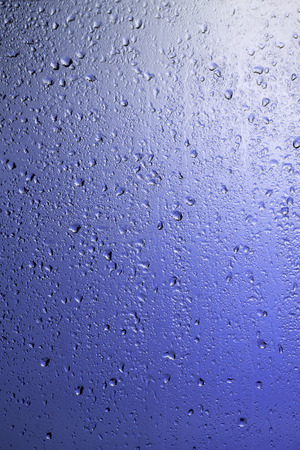 resilient: Rainy window. Drops on the glass.