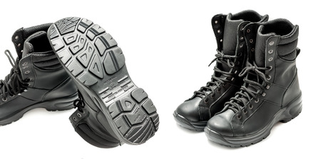 Anatomical combat boots