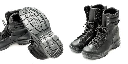 hardwearing: Anatomical combat boots