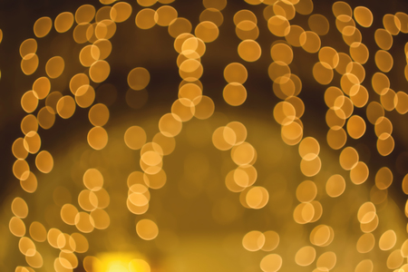 focus on background: Blurred background night photo. Background out of focus. Can use as wallpaper, design. Fairy defocused photo. Stock Photo