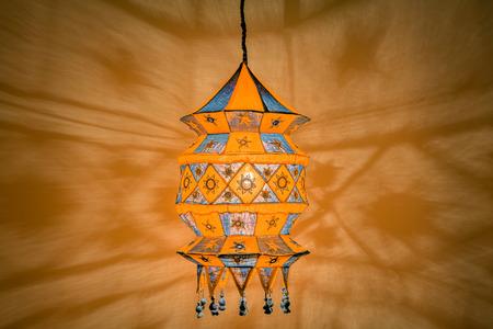 lampshades: Cotton fabric handmade indian lantern. Cozy lampshades.