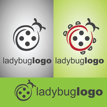 ladybug logo from wild life set