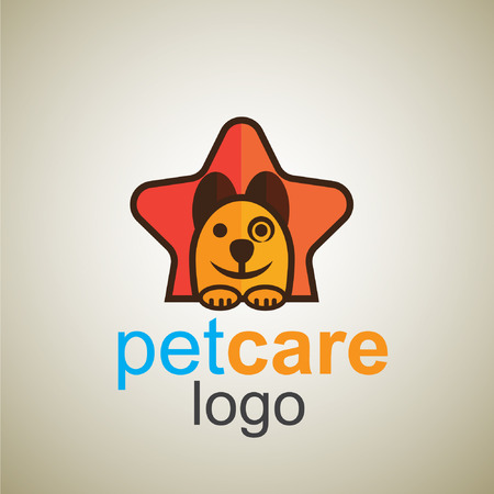 pet care  logo concept designed in a simple way so it can be use for multiple proposes like logo ,mark ,symbol or icon.