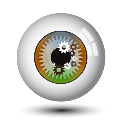 eye ball: eye ball vector 3