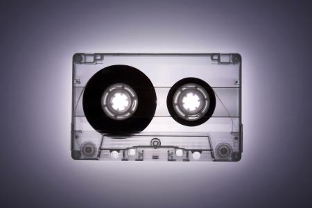 A transparent tape photo