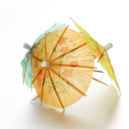 mini umbrella: Close up of some mini umbrellas