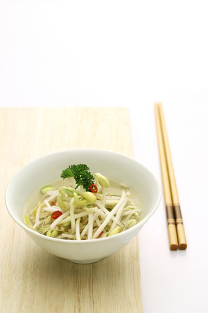 bean sprouts: Bean sprouts
