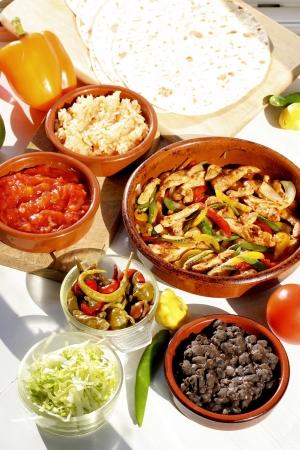 mexican food: Comida mexicana