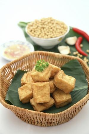 stinky: Deep-fried stinky tofu