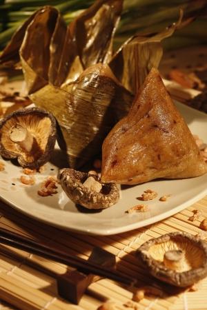 chang: Bak Chang (meat dumpling)