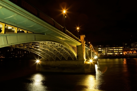 southwark: Southwark Bridge, London