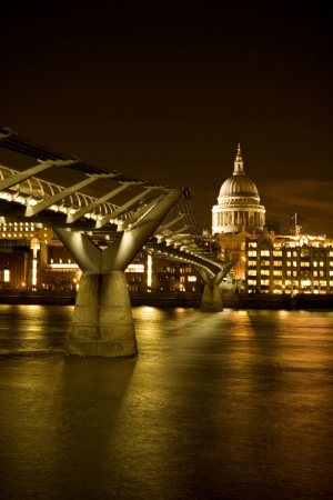 Millennium Bridge, London photo
