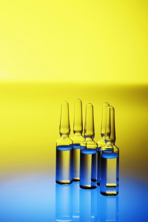 Five ampoules photo