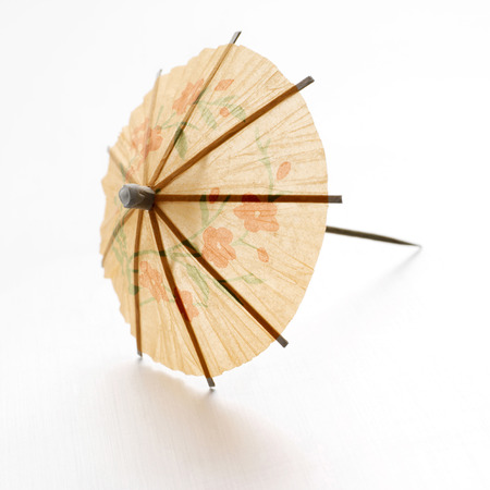 mini umbrella: Close up of a mini umbrella Stock Photo