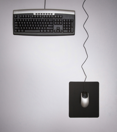 mechanical mouse: Keyboard and mouse