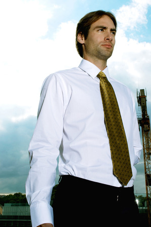Man in formal attire  Stock Photo