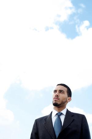 traje sastre: Hombre de negocios en traje de negocios