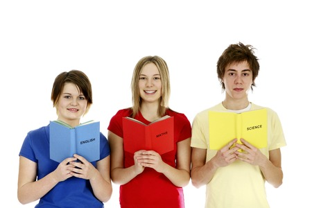 he is different: Boy and girls reading different subject