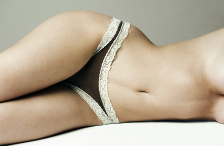 Woman in lacy underwear photo