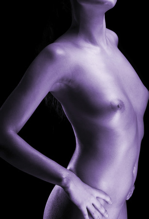 jeune femme nue: Jeune femme nue