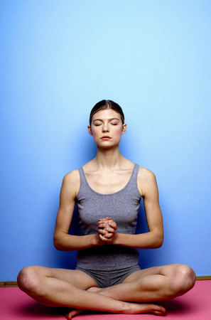 Woman meditating Stock Photo - 26226632