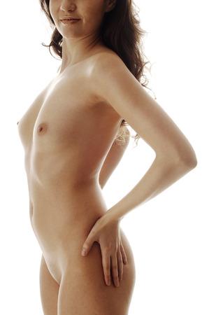 giovane nuda: Nude giovane donna Archivio Fotografico