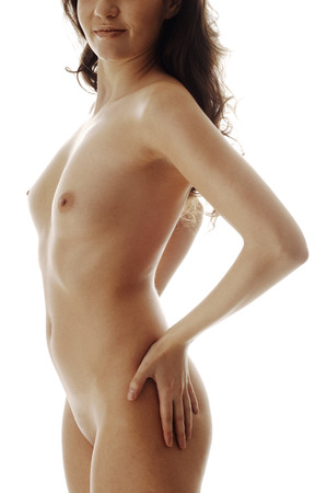 nude young woman: Nude young woman