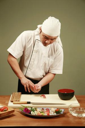 寿司シェフ