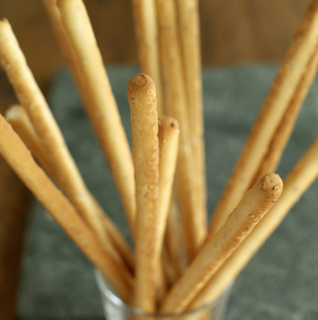 breadstick: Close up of some breadsticks Stock Photo