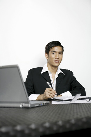 Businessman in office photo