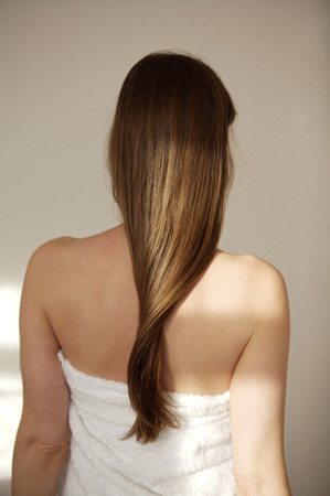 Long straight hair photo