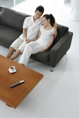 Couple spending time together photo