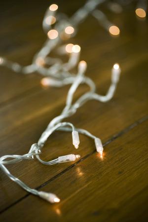 Christmas lights Stock Photo - 26257215