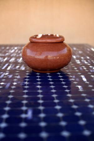 decorative item: Decorative item on table