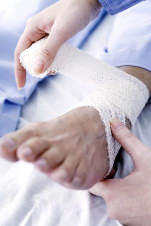 Ankle bandage photo